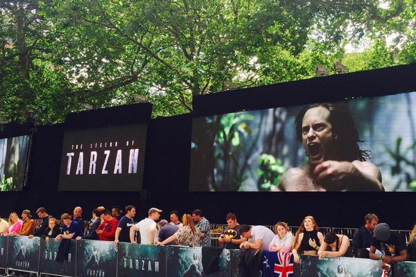 Tarzan film premier ROE MC 7 LED 80six