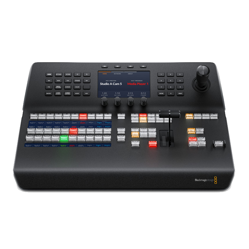 Blackmagic_Atem_1M E_Advanced_Panel
